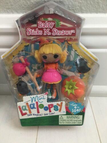 Straw NIB Series 11 # 2 Lalaloopsy Mini Wizard Of Oz Doll Baley Sticks N