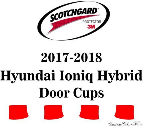 3M Scotchgard Paint Protection Film Pre-Cut Fits 2017 2018 Hyundai Ioniq Hybrid