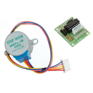 2x-DC-5V-Stepper-Motor-ULN2003-Driver-Test-Module-Board-28BYJ-48-for-Ar-US