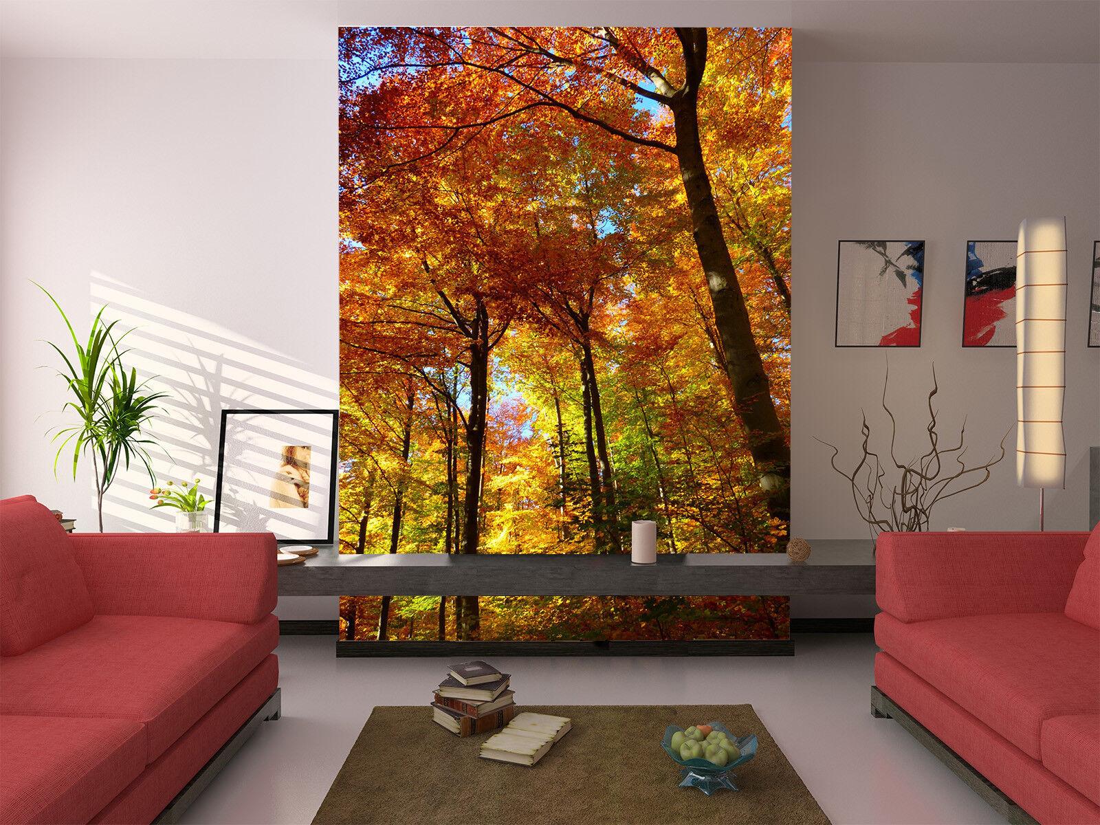 3D Goldene Wälder 988 Tapete Tapete Tapete Wandgemälde Tapete Tapeten Bild Familie DE Lemon | Elegantes Aussehen  892249