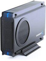 Sabrent Usb 2.0/esata To 3.5 Ide/sata Hard Drive Enclosure With Fan (ec-ueis7)