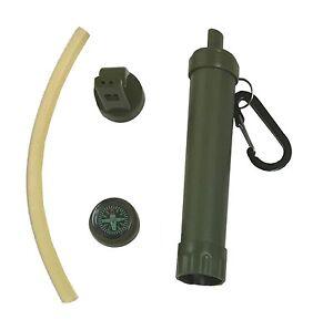 Survivor-PORTABLE-Personal-WATER-FILTER-Water-Purifier-Survival-Gear-Australia