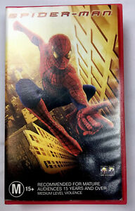 SPIDER-MAN-The-Movie-PAL-VHS-Video