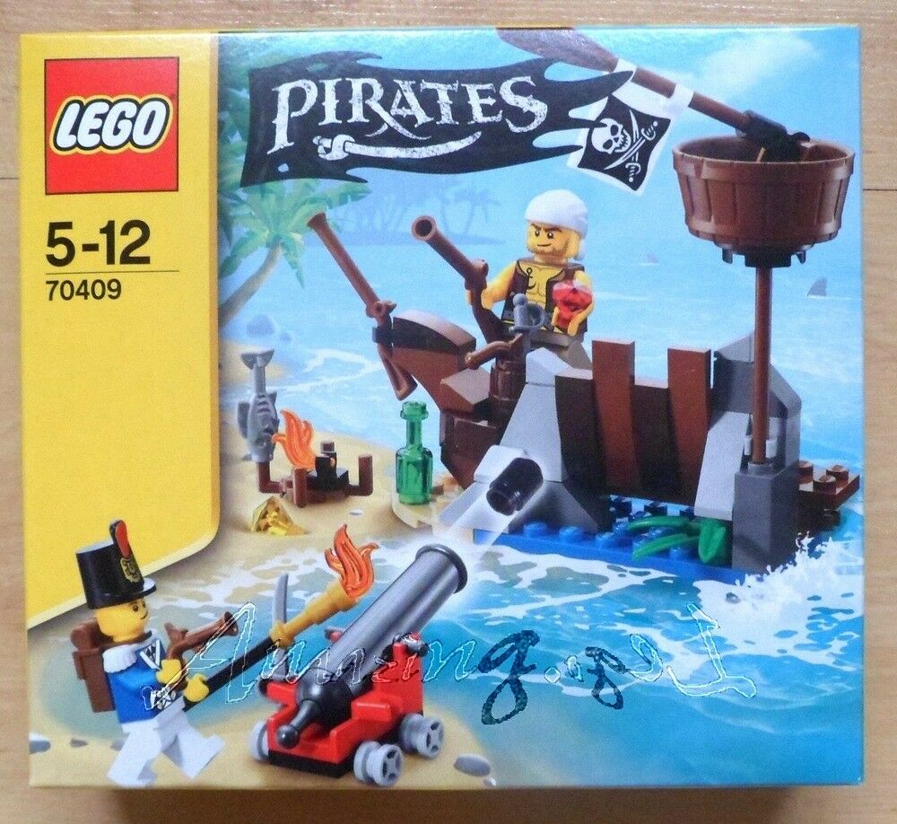 Discontinued Genuine New Lego Pirates Shipwreck Defence 70409 Factory Factory Factory Sealed eedc52