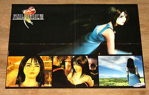 1999 Final Fantasy VIII 8 / The X-Files Game very rare Poster 56x40cm - Deutschland - 1999 Final Fantasy VIII 8 / The X-Files Game very rare Poster 56x40cm - Deutschland