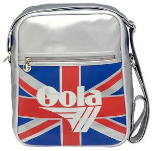 Borsello-Gola-Borsa-Tracolla-Uomo-Donna-Shoulder-Bag-Men-Women-Ecopelle-Silver