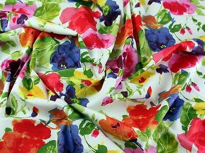 Floral Print Cotton Poplin Dress Fabric (PH-5657-M)