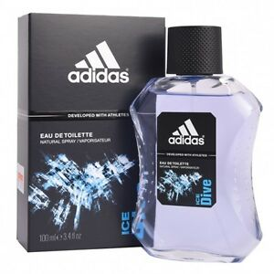 Adidas Ice Dive Cologne for Men 100 ml EDT Spray