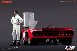 1-18-Andretti-muy-rara-estatuilla-no-coches-Para-Coleccionistas-Diecast