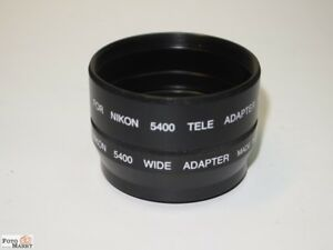Tele-Wide-Adapter-Tubus-Metal-for-Nikon-5400-52mm-Coolpix-Tube-Adapter