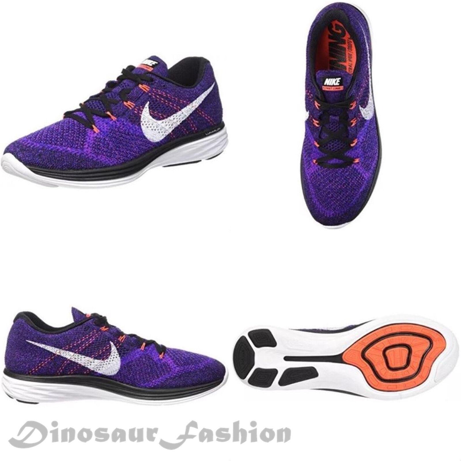 Nike ginnastica flyknit lunar3 698181-014 uomini running-scarpe da ginnastica Nike scarpe nuove con box bc042e
