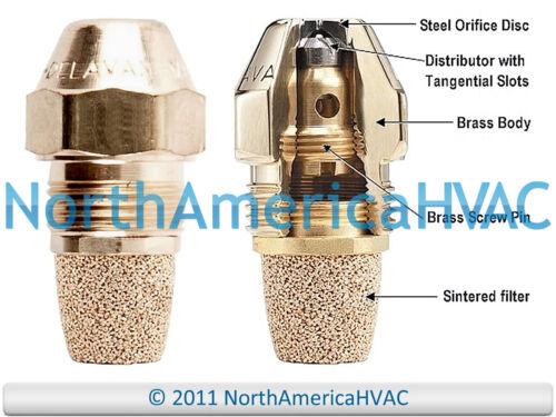 Oil Burner Nozzle Delavan 0.75 GPH 70 Degrees Hollow Cone A H AH NS PL USA
