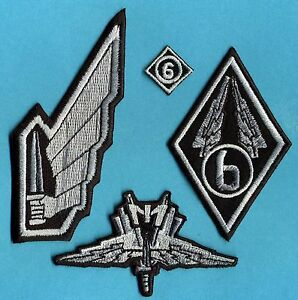 Starship-Troopers-Mobile-Infantry-Embroidered-Patch-Set-4