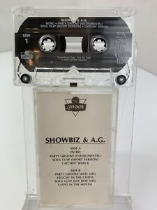 Showbiz & A.G. Party Groove / Soul Clap (Cassette) Promo