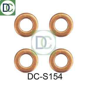 Citroen C4 2.0 hdi siemens diesel injecteur rondelles joints pack de 4 DC-S154