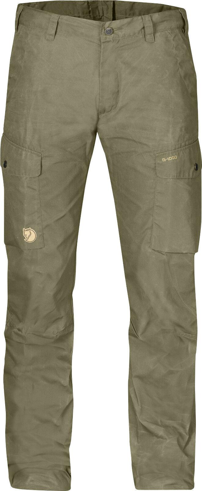 Fjällräven ruaha trs. 81185 light caqui g-1000 Lite pantalones outdoorhose wanderhose