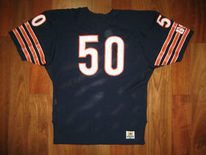watch 7d92d 9c250 Details about 80s Authentic Mike Singletary Bears Sand-Knit jersey 48