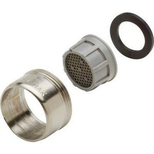 Seasons Single Handle Faucet Brushed Nickel Aerator 2 2