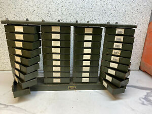 VINTAGE-ENGINEERS-CABINET-36-DRAWERS-STEEL-BY-SMALLBONE-BIRMINGHAM