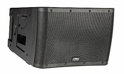 QSC KLA12-BK Active Line Array 1000W Amplified 2-Way Powered Speaker w/ DSP