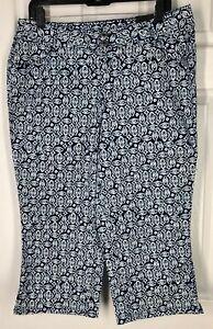 elasticizzato Pants corto 14 Bryant cotone blu Spandex Lane in qRvP7xAaw