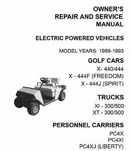Ez go electric and gasoline golf carts trucks service for Ez go golf cart electric motor repair