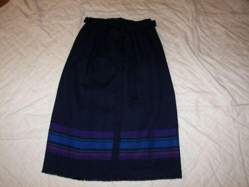 1960s Madawaska Weavers Wool Skirt