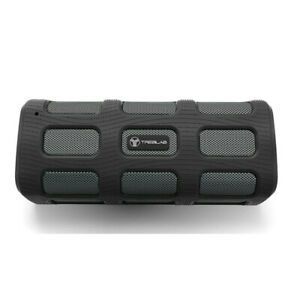 TREBLAB FX100 Bluetooth Portable Wireless Speaker Rugged Outdoors w/ Power Bank