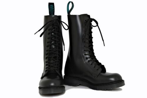 noire Nps 14 s14bbk S080 en yeux Angleterre fabriquées Solovair Chaussures Botte w0xqfgYx5