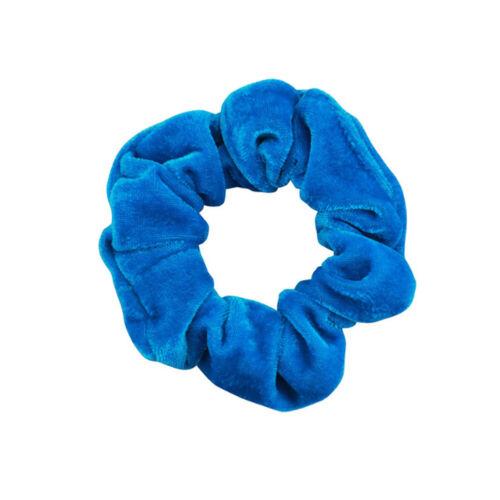 Women Winter Hair Scrunchies Velvet Elastic Hair Bands Scrunchy Hair Ties Ropes
