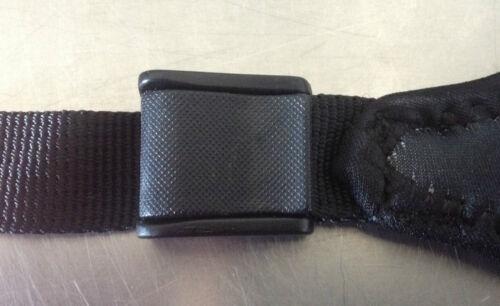 Buckle-Strap Neopren Maskenband mit angesetztem Nylonband und Schnalle