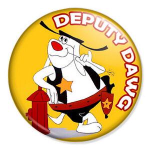 Deputy-Dawg-25mm-1-034-Pin-Badge-Retro-Classic-Cartoon