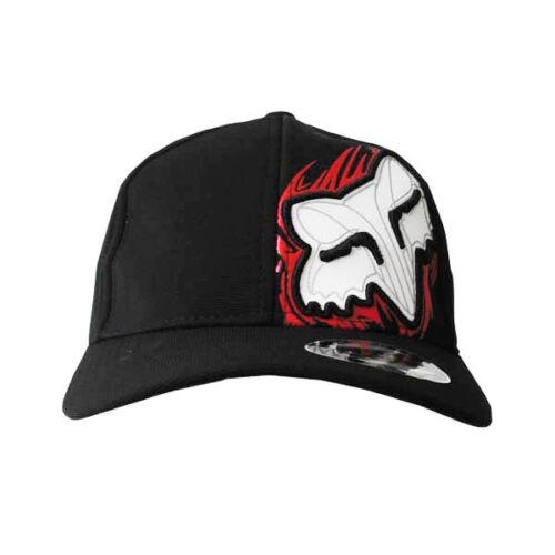 NWT Fox Men/'s Ball Sport Cap//Hat S//M Size FlexFit Black #051Great Xmas Gift