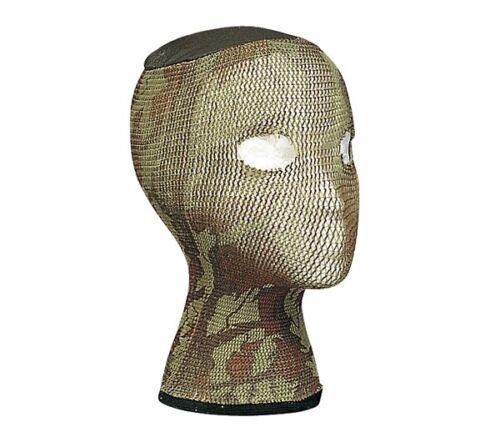Green Camo Military Spandoflage Head Net 5511 Rothco