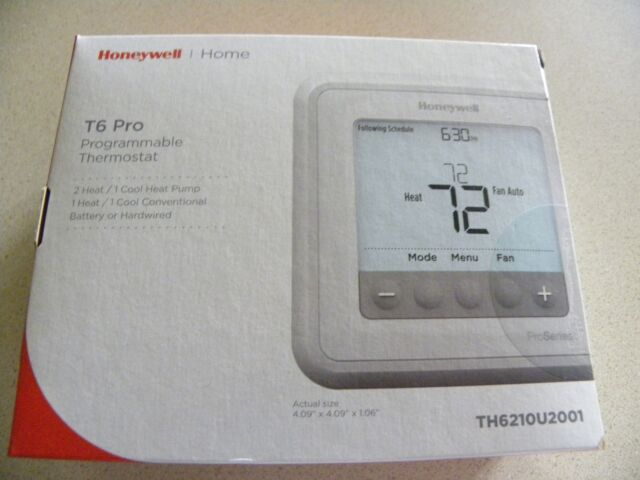10- Honeywell Thermostat T6 PRO TH6210U2001  NEW SEALED LOT