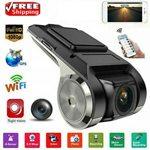 Dashcam-Car-Camera-GPS-Video-Recorder-Full-HD-1080P-Camera-170-Night-cx