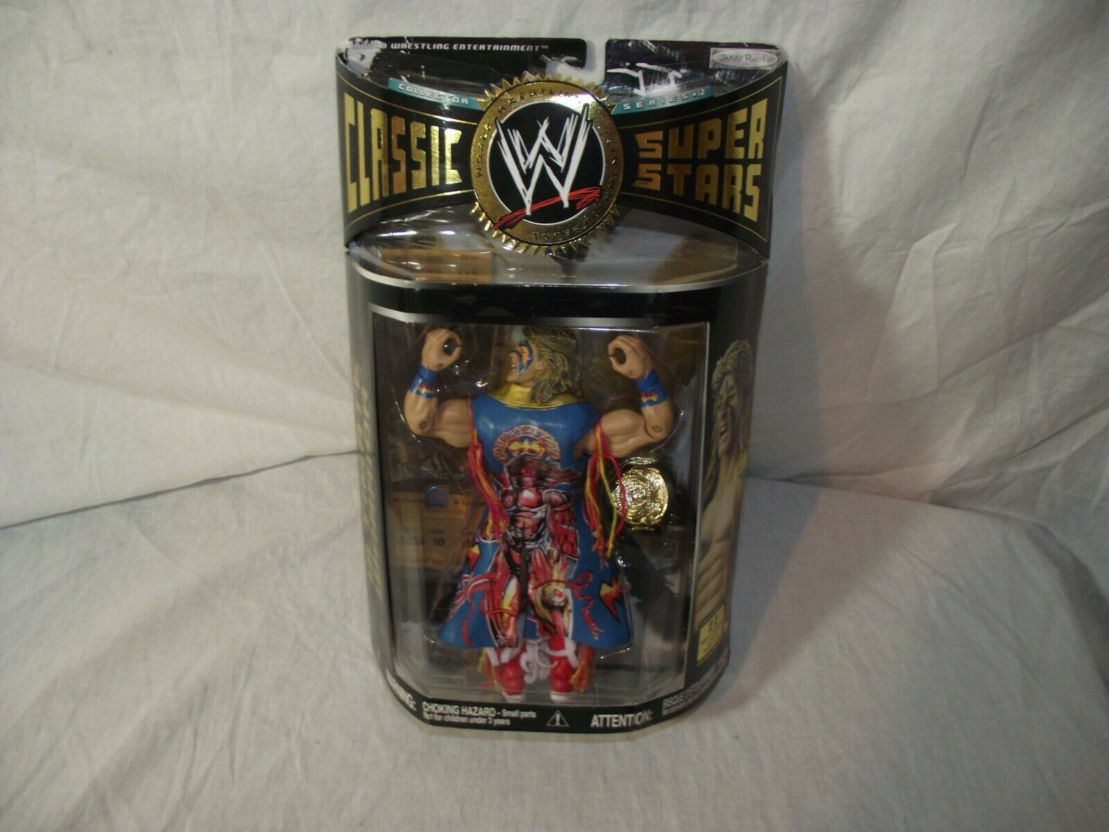 Jakks Pacific classeic WWE Superestrellas Ultimate Warrior cifra Variante NIP