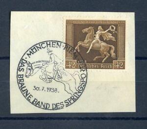 German Empire No. 671y SST Munich 30.7.1938 me 60,- + +!!! (109257)