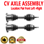 Pair Front CV Axle Drive Shaft for LINCOLN MARK LT 06-08 LINCOLN NAVIGATOR 03-06