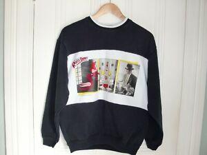 Who-Framed-Roger-Rabbit-1987-Black-and-White-Sweatshirt-Vintage