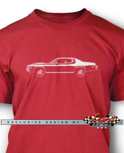 1974 Plymouth Road Runner Coupe Men T-Shirt Multiple Colors Sizes  Classic Car