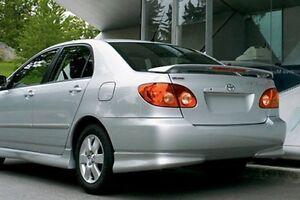 PAINTED Toyota Corolla Spoiler - 2006 corolla
