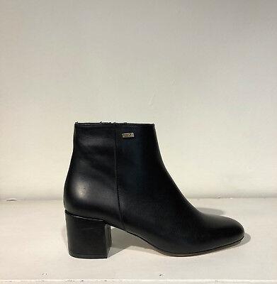 scarpe donna LIU JO stivaletti marrone pelle lucida BN357
