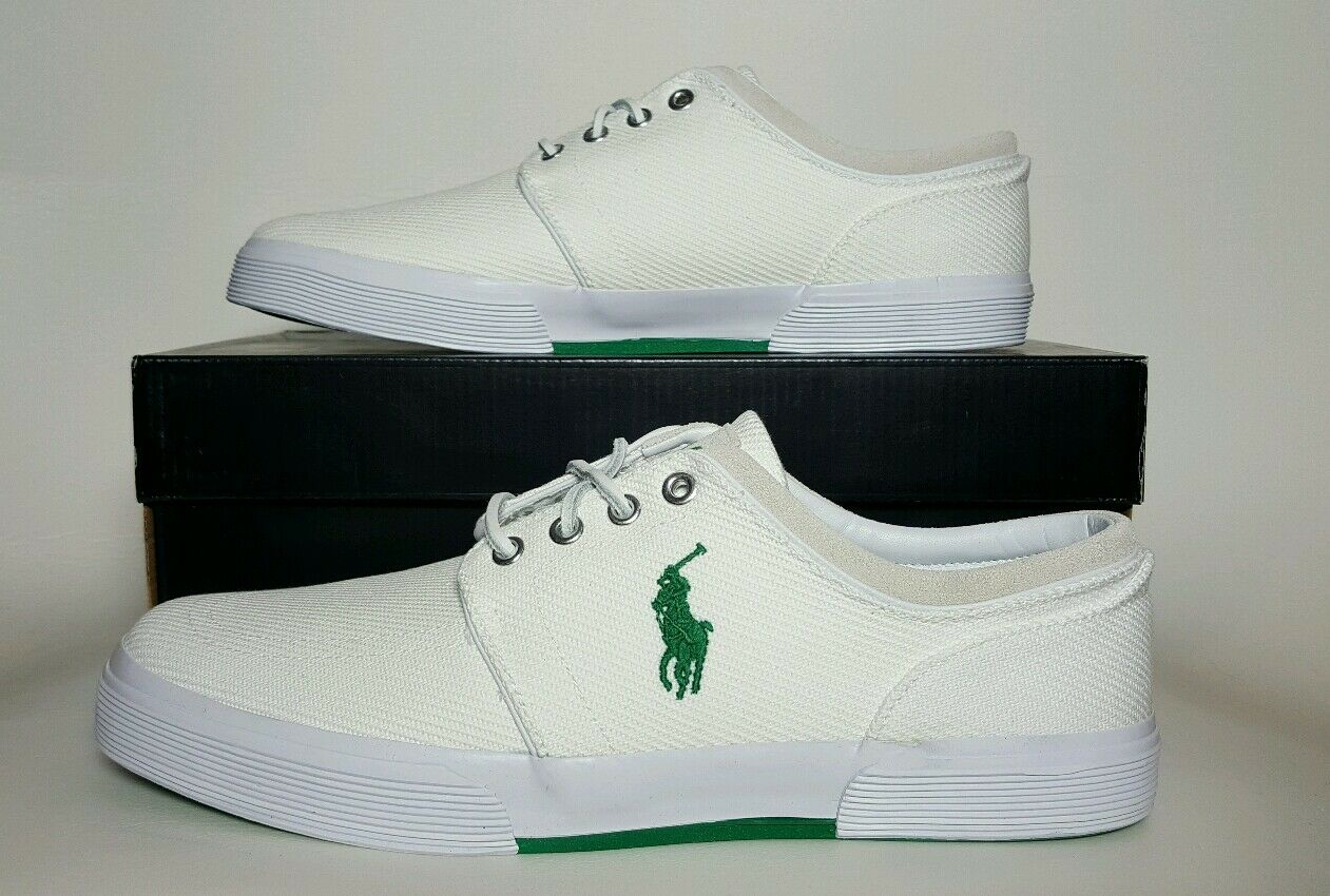 POLO RALPH LAUREN MEN FAXON LOW CALVARY TWILL SIZE 11 & & 11 12 NEW/BOX 816543730004 dade0b