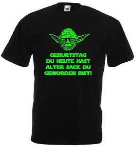 Master Yoda Star Wars Spruch Geburtstag Alter Sack Du Geworden Bist