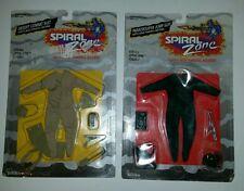 Lot of 2 Vintage Spiral Zone Desert Combat & Paratrooper Jump Suits 1980's