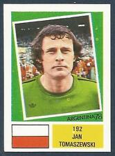 "FKS 1978-ARGENTINA 78 -#192-POLAND-JAN TOMASZEWSKI-THE ""CLOWN"""