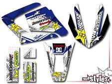 YAMAHA DT 125 R RE X FULL RACING DECORO DECAL KIT STICKER ADESIVO KIT 2009-2015