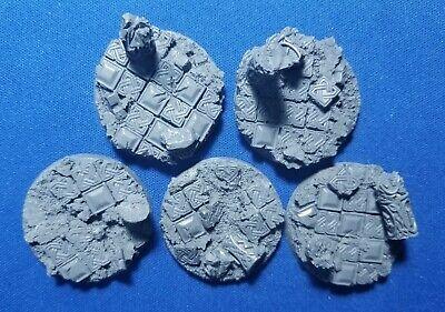 Motivado Warhammer 40k Elrik's Hobbies Terrain Celtic Ruins 40mm Bases