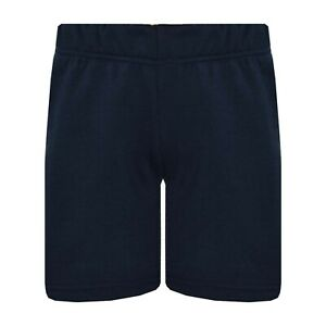 Kids Boys Shorts Chino Navy Shorts Casual Knee Length Half Pant Age 5-13 Years